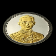 เหรียญในหลวงรัชกาลที่9 คามิโอ กาญจนาภิเษก ปี2539