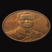 เหรียญกาญจนาภิเษก 7 ซม.ในหลวง ร.9