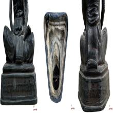 รูปเหมือนบูชาหลวงพ่อจรัญ วัดอัมพวัน สิงห์บุรี ปี๒๕๓๑
