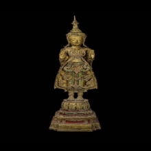 #พระพุทธรูป สมัยอยุธยา ศิลปะบ้านพลูหลวง สูง 1 เมตร15