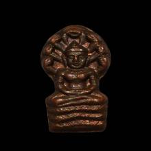 เหรียญนาคปรกใบมะขาม หลวงปู่ฝั้น อาจาโร รุ่น 2 เนื้อทองแดง #2