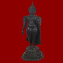 พระบูชา ปางลีลาสุโขทัย หลวงพ่อแพ วัดพิกุลทอง พ.ศ.2517 #01