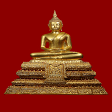 พระบูชา อนุสรณ์ครบ 118ปี วัดระฆังโฆสิตาราม พ.ศ.2533(#01)