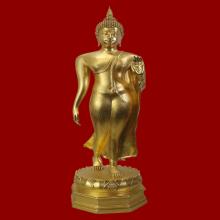 พระบูชา พระพุทธลีลามหากาญจนาบพิตร หาเจดีย์ฯ 30นิ้วปี41(#01)