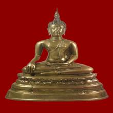 พระบูชาหลวงพ่อโต วัดบางพลีใหญ่ใน พ.ศ.2508