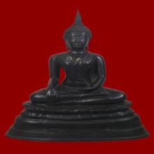 พระพุทธรูปบูชา หลวงพ่อโต วัดบางพลีใหญ่ใน พ.ศ.2517