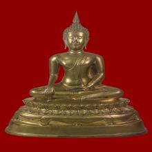 พระพุทธรูปบูชา หลวงพ่อโต วัดบางพลีใหญ่ใน พ.ศ.2519