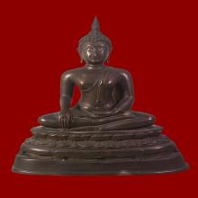 พระพุทธรูปบูชา หลวงพ่อโต วัดบางพลีใหญ่ใน พ.ศ.2520
