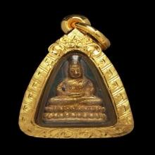 พระชัยวัฒน์ เนื้อทองทิพย์ หลวงปู่หมุน รวยทันใจ ปี 2543