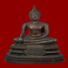 พระบูชา สมเด็จพระพุทธโคดม วัดไผ่โรงวัว จ.สุพรรณบุรี พ.ศ.2505