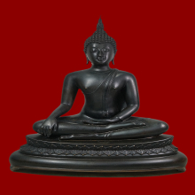 พระบูชาสมเด็จพระเจ้าตากสินมหาราช  ค่ายอดิศร จ.สระบุรี ปี2514
