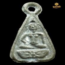 หลวงพ่อโต วัดวิหารทอง  พิมพ์หยดน้ำ เนื้อตะกั่ว ปี 2460