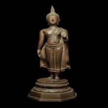 107 พระพุทธรูปลีลายืน วัดสุทัศน์ เจ้าคุณศรี (สนธ์)