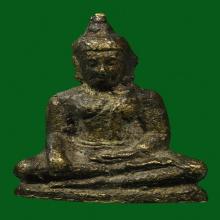 รูปหล่อโบราณรุ่นแรกหลวงพ่อศาสดา วัดสุวรรณาราม(วัดทอง) กทม.