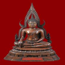 พระบูชา พระพุทธชินราช วัดวังทอง จ.พิษณุโลกพ.ศ.2514