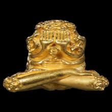 พระปิดตาราเมศวร์ พิมพ์ใหญ่  เนื้อทองคำ ปี2523