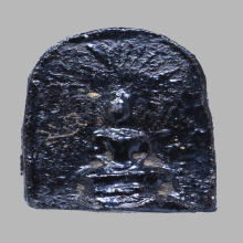 พระพิมพ์ซุ้มรัศมี เนื้อจินดามณี หลวงปู่บุญ วัดกลางบางแก้ว