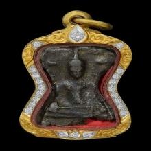 พระมเหศวร พิมพ์เล็กผมหวี กรุวัดพระศรีฯ จ.สุพรรณบุรี