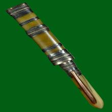 ติดที่ 2 มีดปากกา 3 กษัตริย์ ด้ามเชฟเฟอร์ หลวงพ่อเดิม