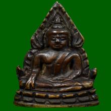 พระพุทธชินราช อินโดจีน สังฆาฏิยาว พิมพ์A นิยมสุด พระสวยมากๆ