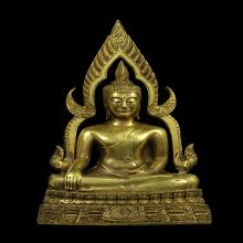 พระพุทธชินราชอินโดจีน ปี2485 พิมพ์แต่ง 2 ถอด