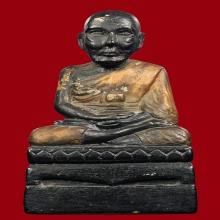 พระบูชาหลวงปู่ทวด หน้าตัก3นิ้ว ปูนผสมว่าน ปี2500