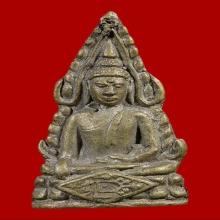 ชินราชหลวงปู่เผือก วัดกิ่งแก้ว ปี 85 เนื้ออัลปาก้า อุดใหญ่