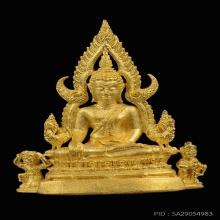 พระพุทธชินราชเนื้อทองคำ