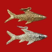 ปลาตะเพียนเงิน ปลาตะเพียนทอง หลวงพ่อจง