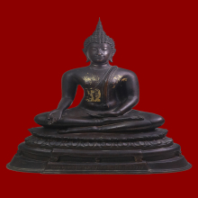พระบูชา พระพุทธรูปฉลอง 72ปี ศิริราช กทม พ.ศ.2505 ขนาด5นิ้ว
