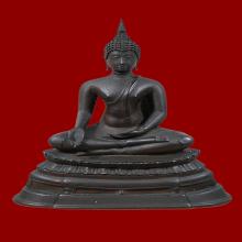 พระบูชา พระพุทธรูปฉลอง 72ปี ศิริราช กทม.พ.ศ.2505 ขนาด 4นิ้ว