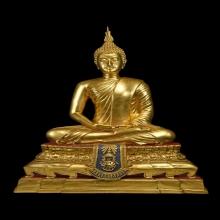 พระบูชา จ.ป.ร.พระพุทธพิมพ์ วัดเกศไชโย จ.อ่างทองปี2531