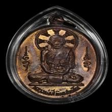 เหรียญหลังพรหม วัดคานหาม เนื้อทองแดง หลวงปู่สีห์ วัดสะแก 4