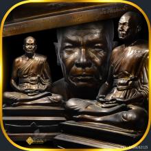 พระบูชาหลวงพ่อสด วัดปากน้ำภาษีเจริญ ธนบุรี ปี 2525