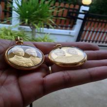 เหรียญนี้ที่จะแขวนชั่วชีวิตพระบารมีปกป้องในหลวงร.9