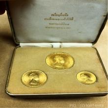 เหรียญพระราขินีเนื้อทองคำ