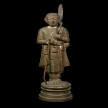 พระศิวลีหลวงพ่อแฉ่ง วัดบางพัง จ.นนทบุรีปี2495 ขนาดสูง4.5นิ้ว