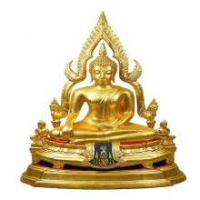 พระบูชาพระพุทธชินราช นางพญาเรือนแก้ววัดนางพญาจ.พิษณุโลก ปี19