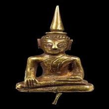 พระหล่อโบราณพิมพ์มารวิชัยเนื้อทองคำศิลปะนคร
