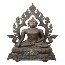 พระบูชา ภ.ป.ร.พระพุทธมงคลรัตน์ภูมิวัดมงคลรัตนาราม(USA)ปี2523