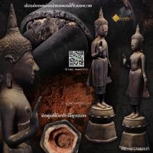 พระบูชารัชกาลล้านนา (รัชกาลเหนือ) ปางห้ามญาติ เนื้อสัมฤทธิ์