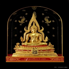 พระพุทธชินราชจำลอง รุ่น(ภปร.) ปฏิสังขรณ์ รุ่น ๒ โดยกองทัพ