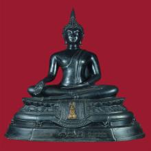 พระบูชา ภ.ป.ร.วัดธรรมมงคล กรุงเทพ พ.ศ.2518