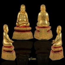 หลวงปู่โต๊ะ พระบูชาสังกัจจายน์ ขนาด 5 นิ้ว สร้างปี 2523