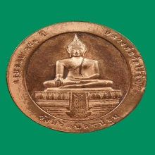 เหรียญสองหน้า หลวงพ่อวัดไร่ขิง 151 ปี