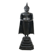 พระบูชา หลวงพ่อบ้านแหลม วัดเพชรสมุทรปี2511(สูง 21