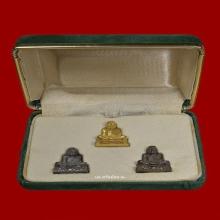 ชุดกล่องทองคำ รูปหล่ออาจารย์นำ วัดดอนศาลา รุ่นแรก