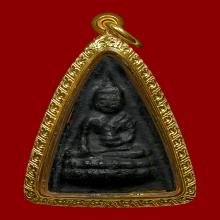 พระพุทโธน้อย พิมพ์ใหญ่เนื้อใบลาน วัดอาวุธปี 2494