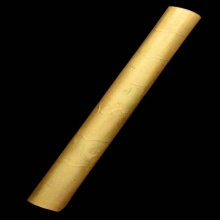 ตะกรุดกันภัย หลวงพ่อแดง วัดเขาบันไดอิฐ จ.เพชรบุรี เนื้อทองคำ