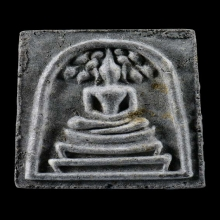 หลวงปู่โต๊ะ สมเด็จคะแนนพิมพ์ลึก ปี2521 เนื้อใบลาน